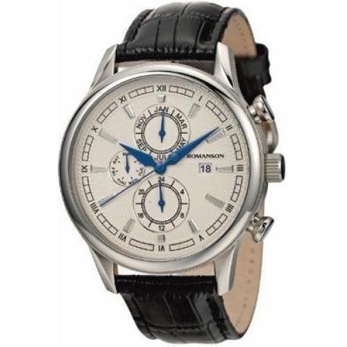 Часы Romanson TL1245BMWH WH
