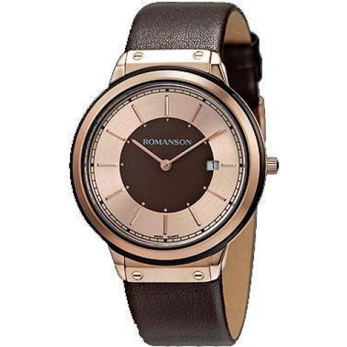 Часы Romanson TL3219MRG BROWN