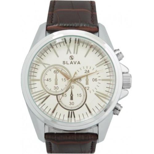 Часы Slava SL10154SWSSS