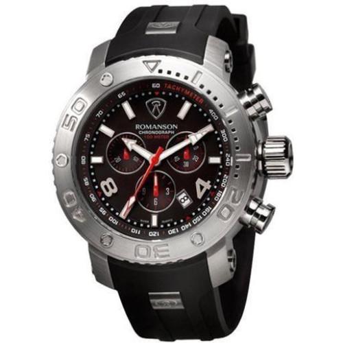 Часы Romanson AL1236HMWH BK