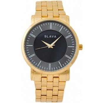 Часы Slava SL10014GBWBG