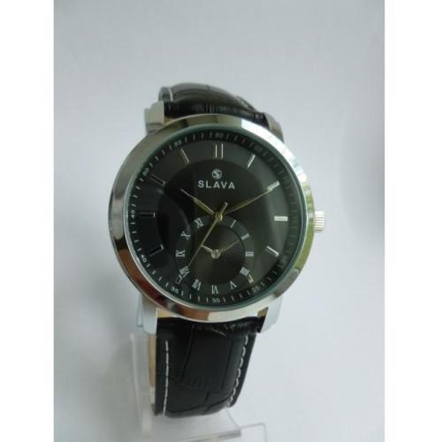Часы Slava SL10098SBSSB