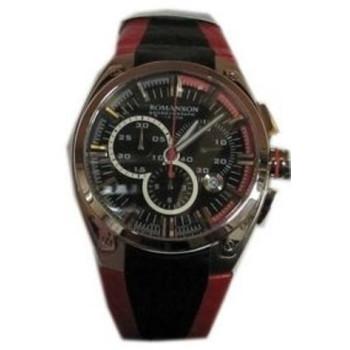 Часы Romanson AL1264HMWH BK RED
