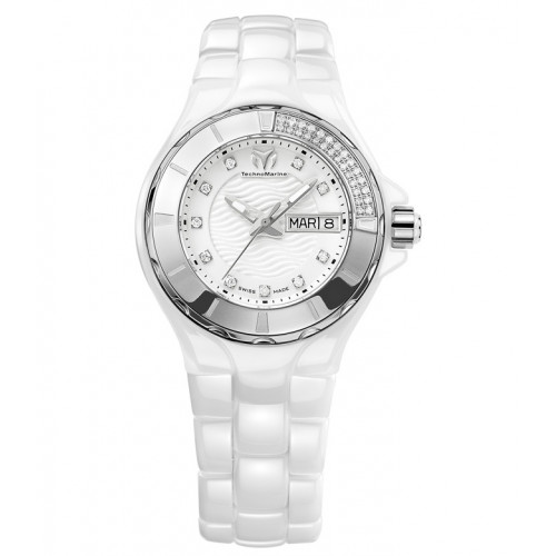 Часы TechnoMarine Cruise Ceramic Diamond TM-110023C