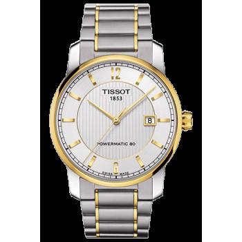 Часы Tissot Titanium Powermatic 80 T087.407.55.037.00