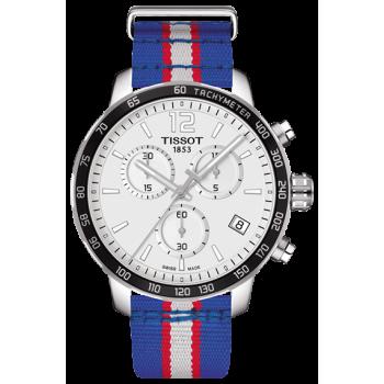 Часы Tissot Quickster Chronograph NBA Detroit Pistons T095.417.17.037.22