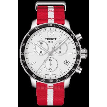 Часы Tissot Quickster Chronograph NBA Atlanta HawksT095.417.17.037.29