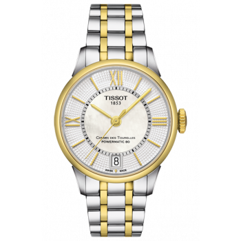Часы Tissot Chemin Des Tourelles Powermatic 80 Lady T099.207.22.118.00