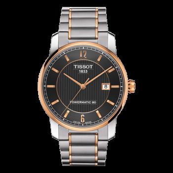 Часы Tissot Titanium Powermatic 80 T087.407.55.067.00