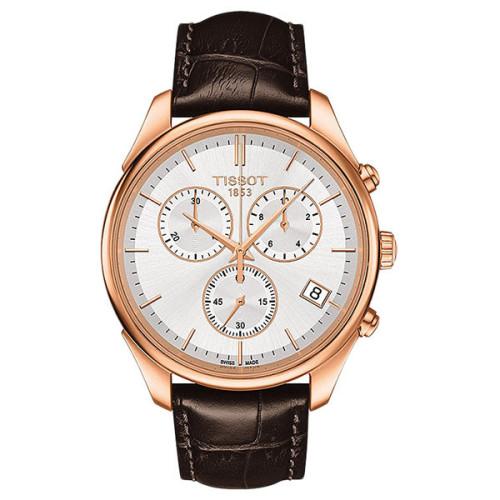 Часы Tissot Vintage Chronograph 18k Gold T920.417.76.031.00
