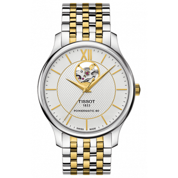 Часы Tissot Tradition Automatic Open Heart T063.907.22.038.00