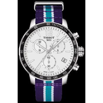 Часы Tissot Quickster Chronograph NBA Charlotte Hornets T095.417.17.037.30
