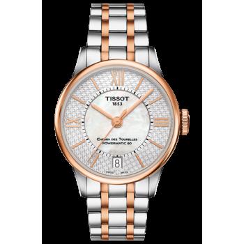 Часы Tissot Chemin Des Tourelles Powermatic 80 Helvetic Pride Lady T099.207.22.118.01