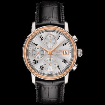 Часы Tissot Bridgeport Automatic Chronograph 18k Gold T921.427.46.033.00
