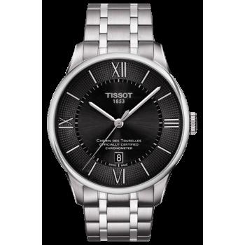 Часы Tissot Chemin Des Tourelles Powermatic 80 COSC T099.408.11.058.00