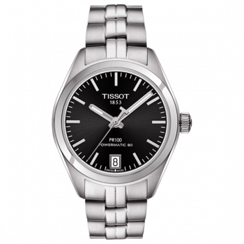 Часы Tissot PR 100 Powermatic 80 Lady T101.207.11.051.00