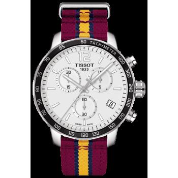 Часы Tissot Quickster Chronograph NBA CLEVELAND CAVALIERS T095.417.17.037.13
