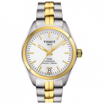 Часы Tissot Pr 100 Powermatic Lady 80 COSC T101.208.22.031.00
