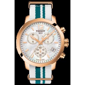 Часы Tissot Quickster Nato Chronograph T095.417.37.117.01