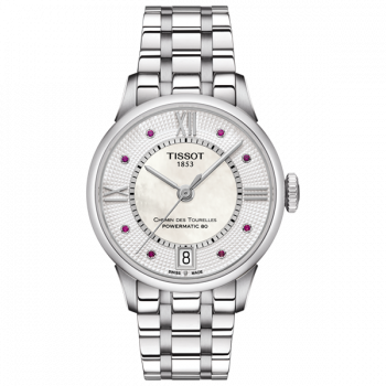 Часы Tissot Chemin Des Tourelles Powermatic 80 Lady T099.207.11.113.00