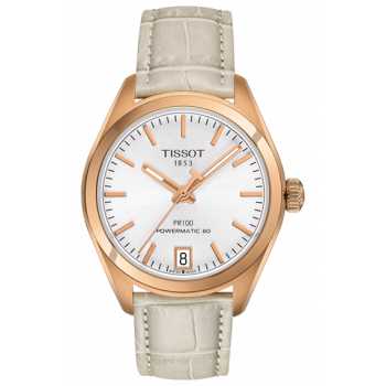 Часы Tissot PR 100 Powermatic 80 Lady T101.207.36.031.00