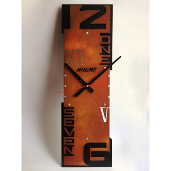 Настенные часы Hitline RV-TF600-rust