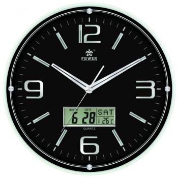 Настенные часы Power 0543BLKS