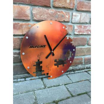 Настенные часы Hitline C-PL400-rust
