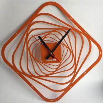 Настенные часы Hitline HA440-orange