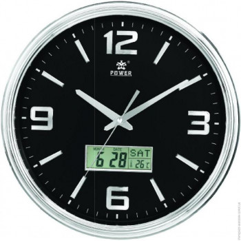 Настенные часы Power 0567 BLKS