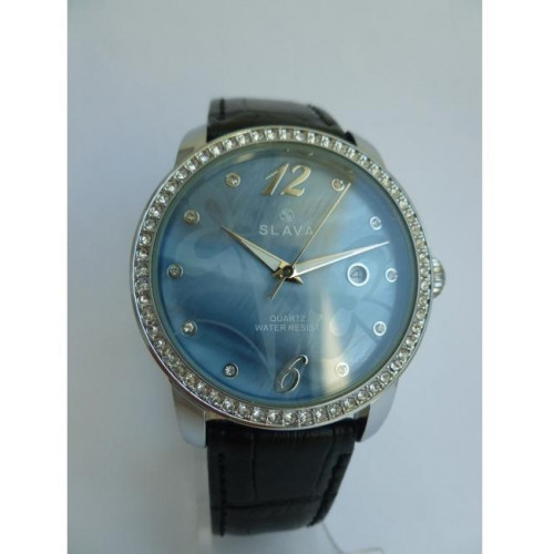 Часы Slava SL10108SSBLSF