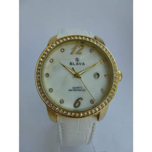 Часы Slava SL10108GGWGFW