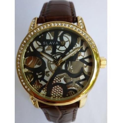 Часы Slava SL10081KGSWGF
