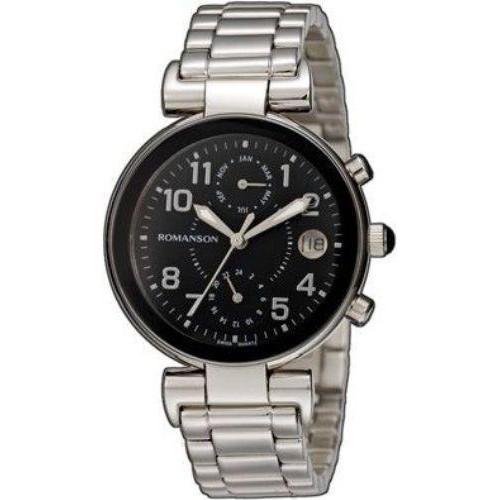 Часы Romanson RM4211FLWH BK