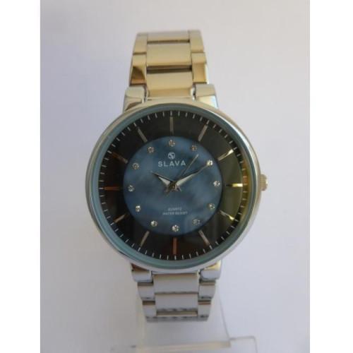 Часы Slava SL10136SBLS