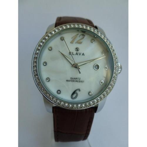 Часы Slava SL10108SSWSF